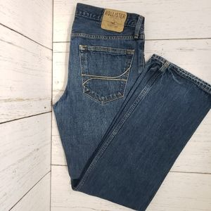 Hollister straight fit jeans button fly